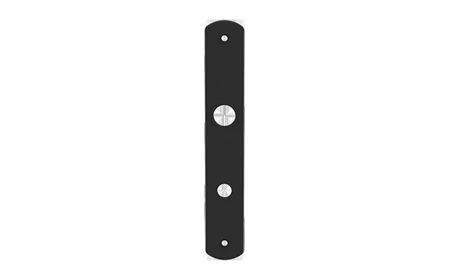 ESPELHO E44 EXT TETRA EMBUTIR PRETO  - Soprano