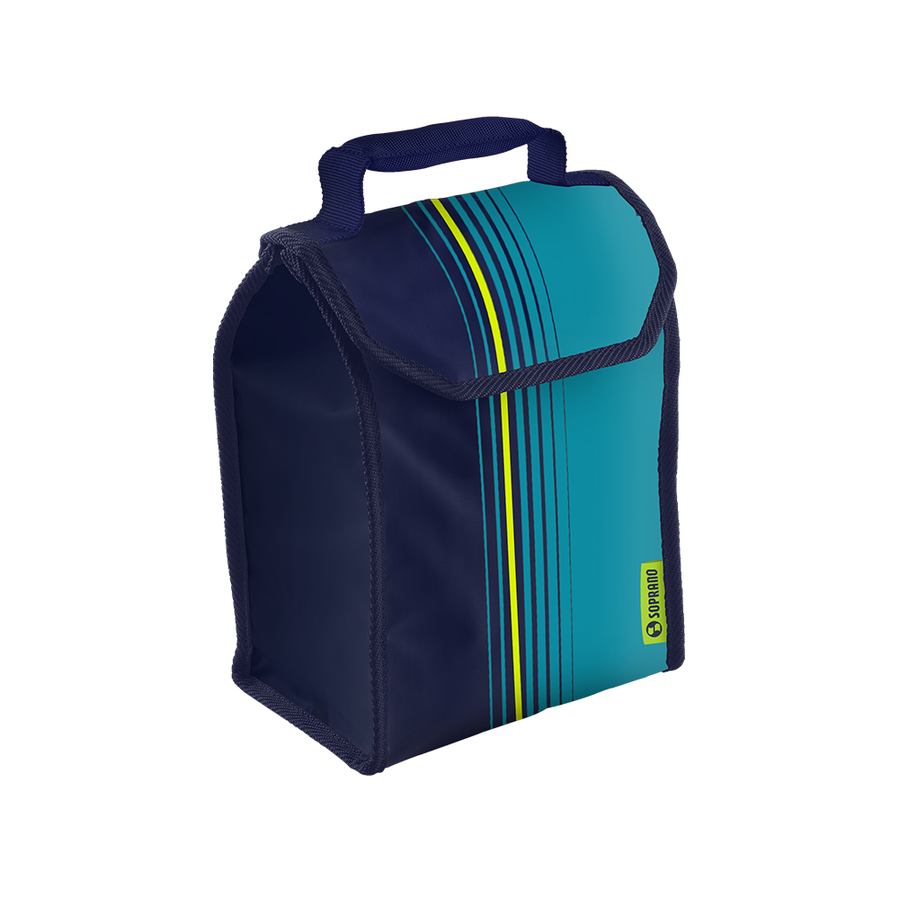 BOLSA TERMICA LUNCH POP 4,2L AZUL - Soprano